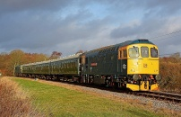 131214 - 33202 Swanage Railway 14/12/13