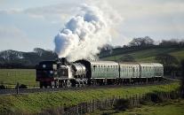 131228 - Swanage Railway 28/12/13
