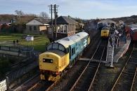 131229 - Bo'ness & Kinneil Railway Diesel Gala 28/12/13 & 29/12/13