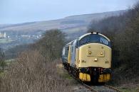 141231 - 37674 Wensleydale Railway 31/12/14