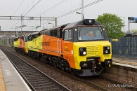 140501 - 70806 70807 Liverpool to Bescot 01/05/14
