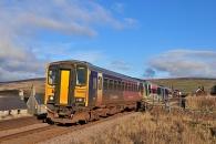 121128 - Settle & Carlisle Line 28/11/12