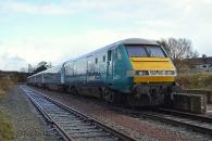 141104 - 5Z84 67002 Rhyl to Cardiff Canton 04/11/14