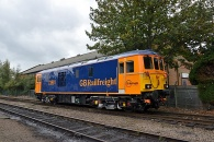 141018 - 73961 Great Central Railway 18/10/14