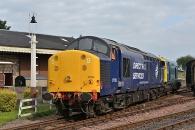 140906 - 37703 Bo'ness & Kinneil Railway 06/09/14